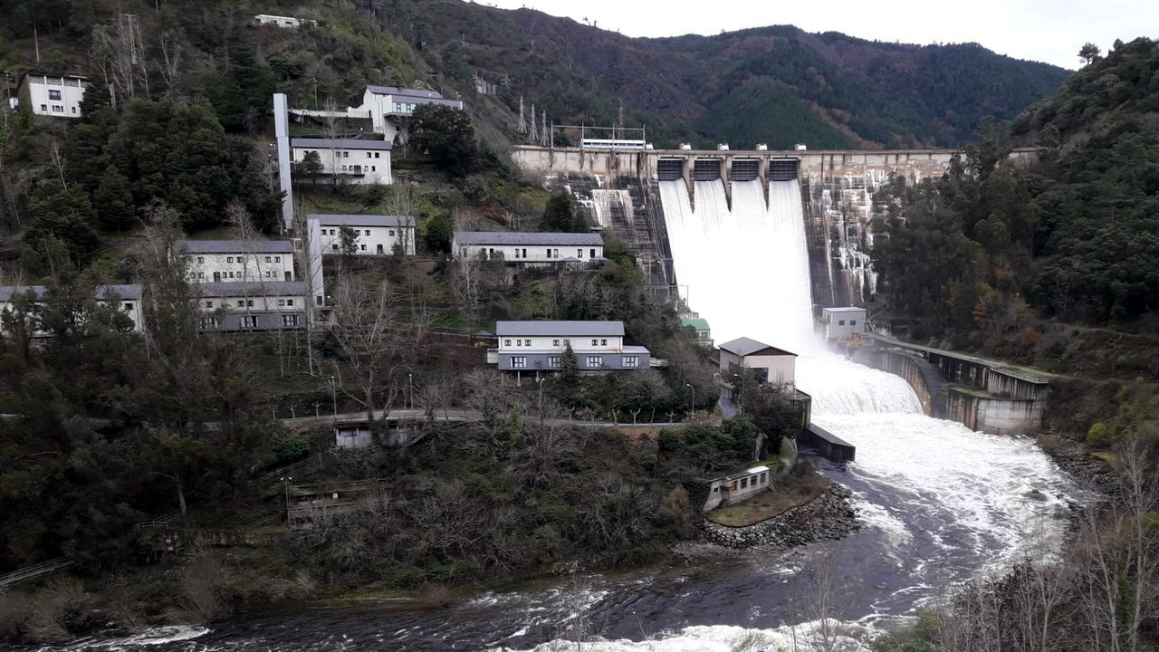 Las sirenas se podrán oír en los diferentes municipios del entorno de la presa hidroeléctrica