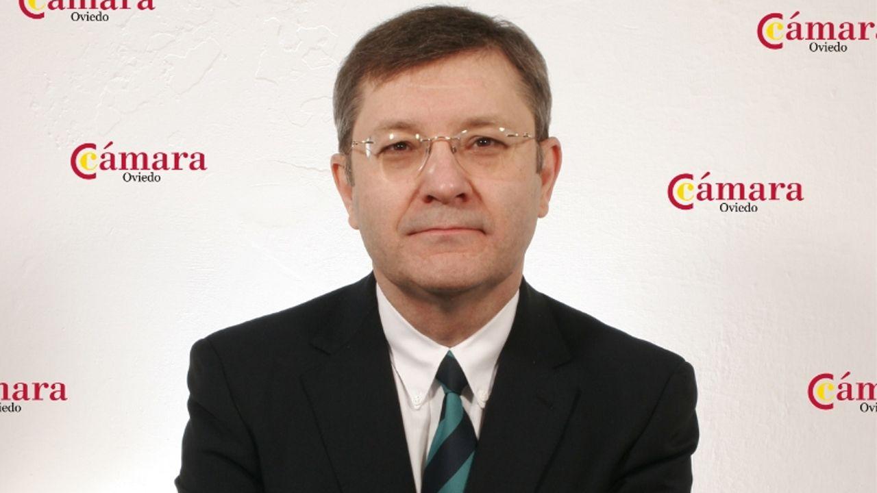 avión air nostrum.Miguel López, director del MBA de la Cámara de Comercio de Oviedo