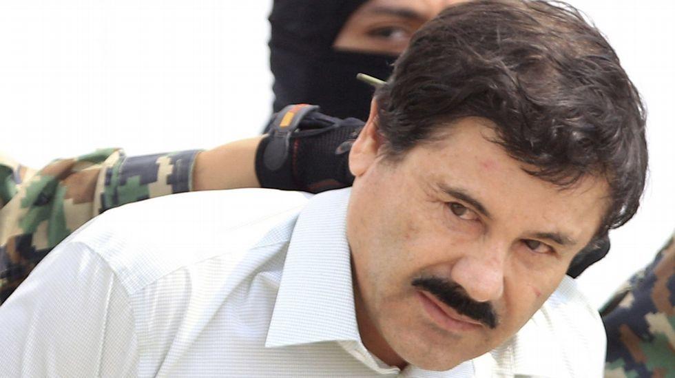 Desarticulado el grupo que ayudó a escapar al Chapo Guzmán.El Chapo, llevado a la cárcel en el 2014