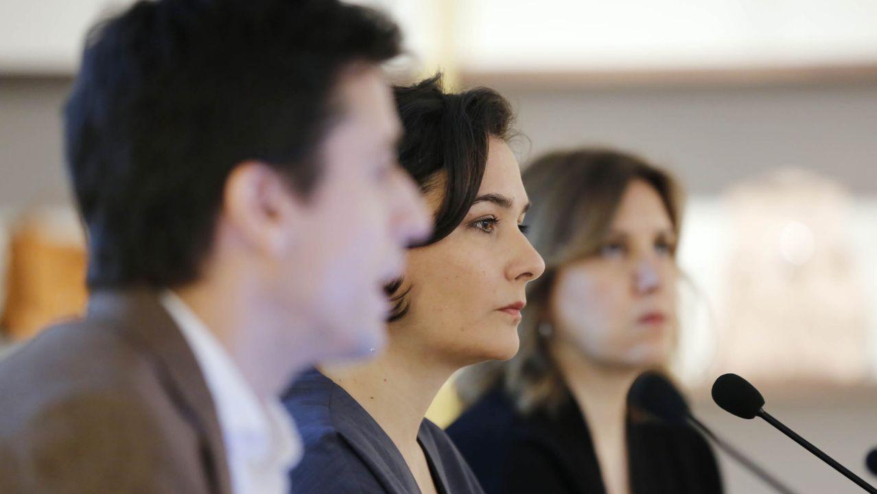 Adriana Domínguez, consejerara delegada, yAntonio Puente, director xeral
