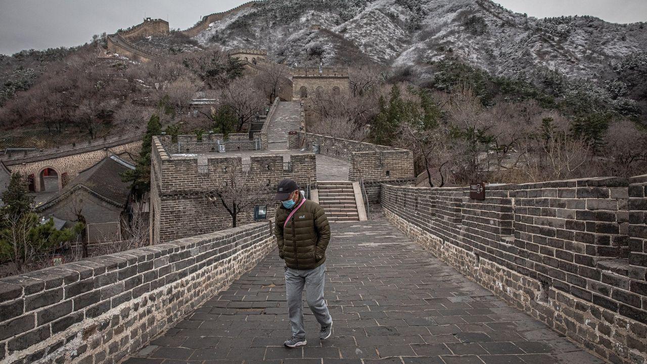 La Gran Muralla china vuelve a estar abierta al público tras haber estado cerrada dos meses