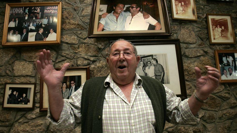 En una imagen de archivo días antes de su jubilación