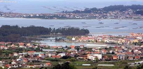 La ría de Arousa es una de las áreas más afectadas por Costas en Galicia, pero la nueva ley abre una puerta a su legalización.