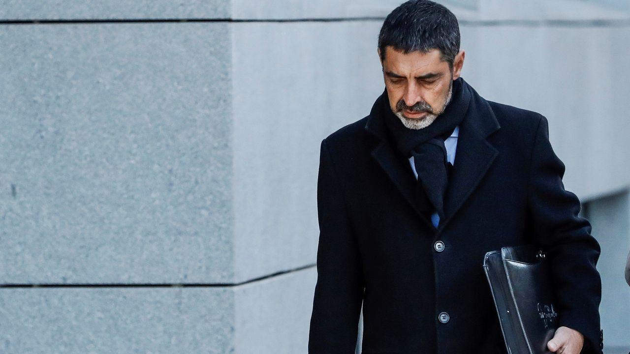 Ana Cedeira, comite de oficinas de Ence .El excomisario José Villarejo pedirá declarar ante el nuevo juez del caso Tándem
