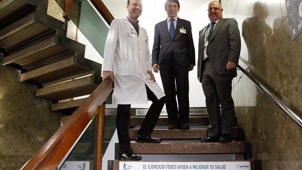 Povisa intenta convertirse en un hospital saludable.La Escuela Oficial de Idiomas de Gijón