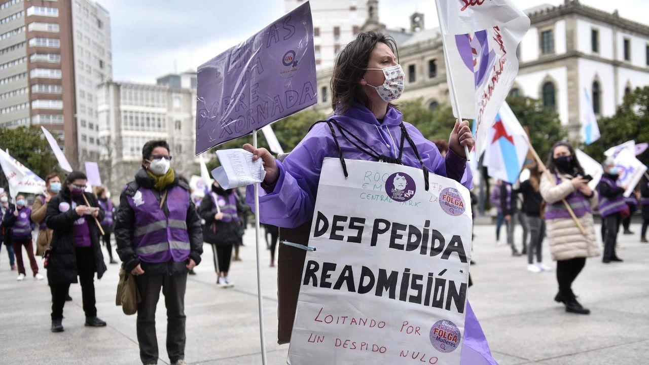 Movilización en A Coruña