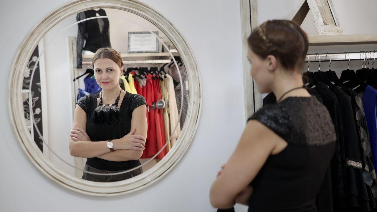 Cristina Pedroche desfila para Women Secret.Paula Echevarría y Pelayo Díaz