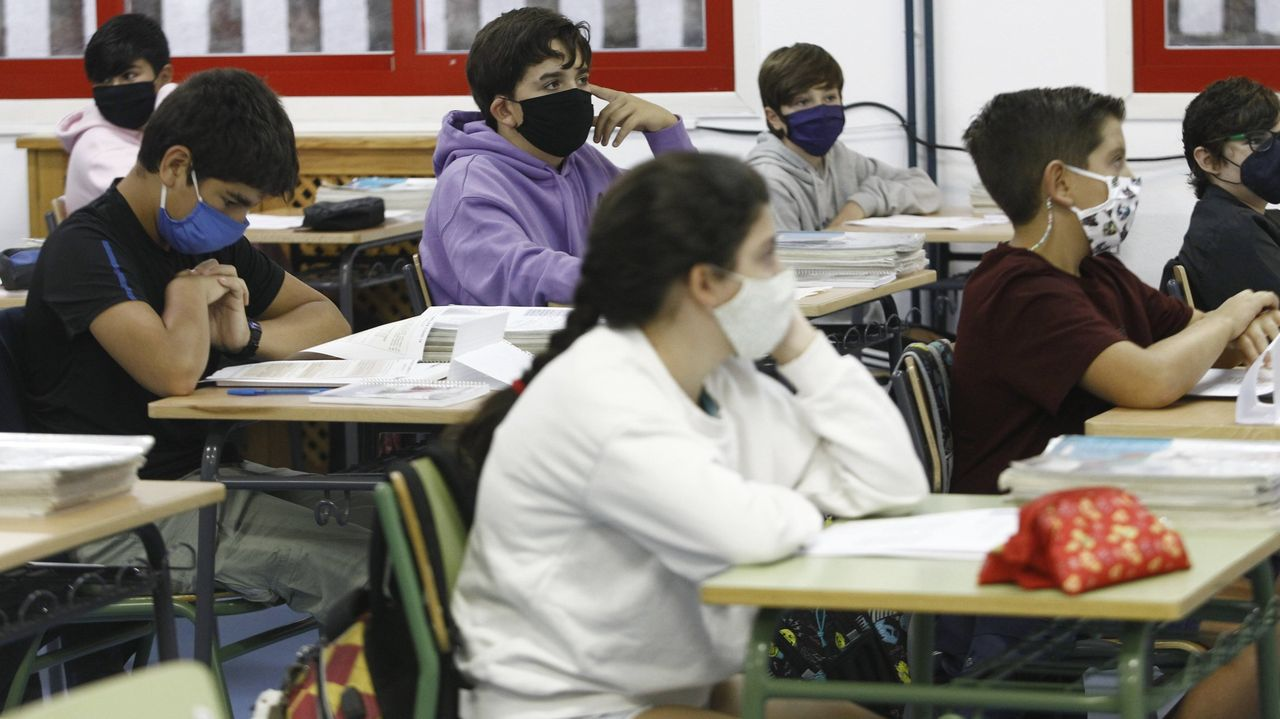 Imagen de archivo de una clase de instituto