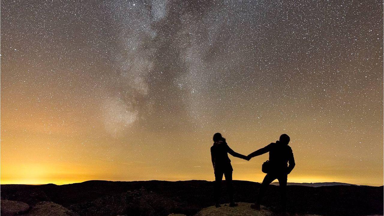 Mirador astronómico de As Tablillas en el concello de A Veiga