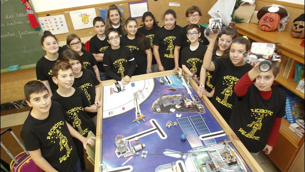 El REcimil esta representado en la competición por un equipo formado por alumnos de sexto de Primaria