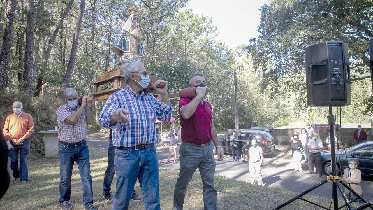 ¡Mira aquí las fotos de la romería de A Guadalupe de Os Casás!