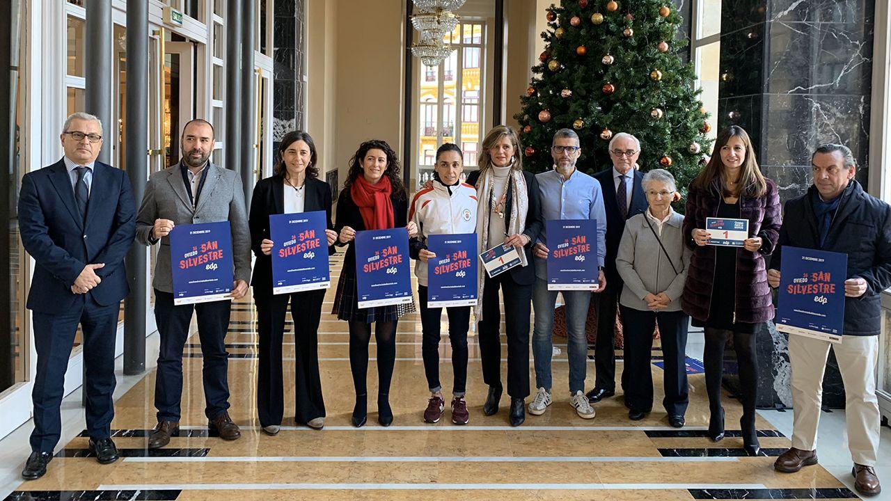 Presentación de la San Silvestre 2019 de Oviedo