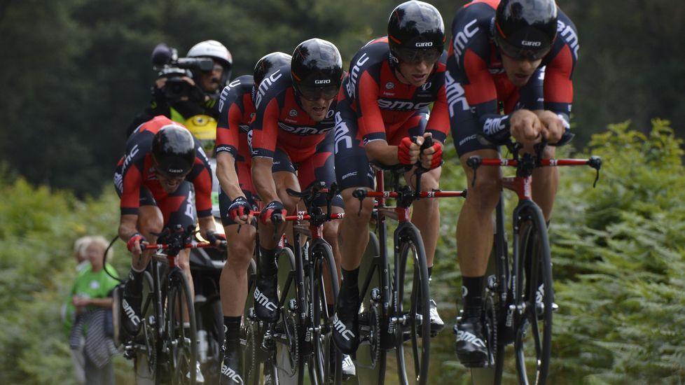 La décima etapa del Tour de Francia en imágenes.Froome se proclama ganador de la décima etapa