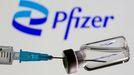 Vial de la vacuna elaborado por el consorcio BioNTech-Pfizer