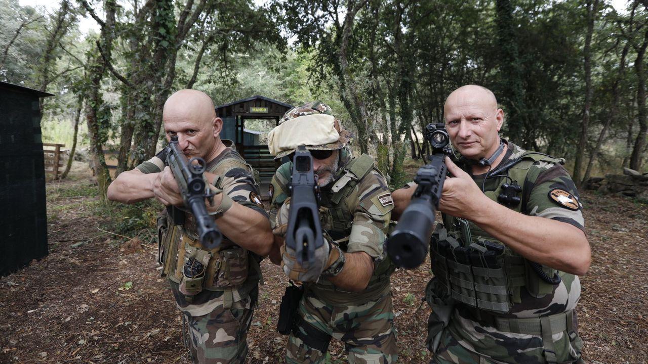 Tercio GRT, equipo de guerrillas de Moreiras
