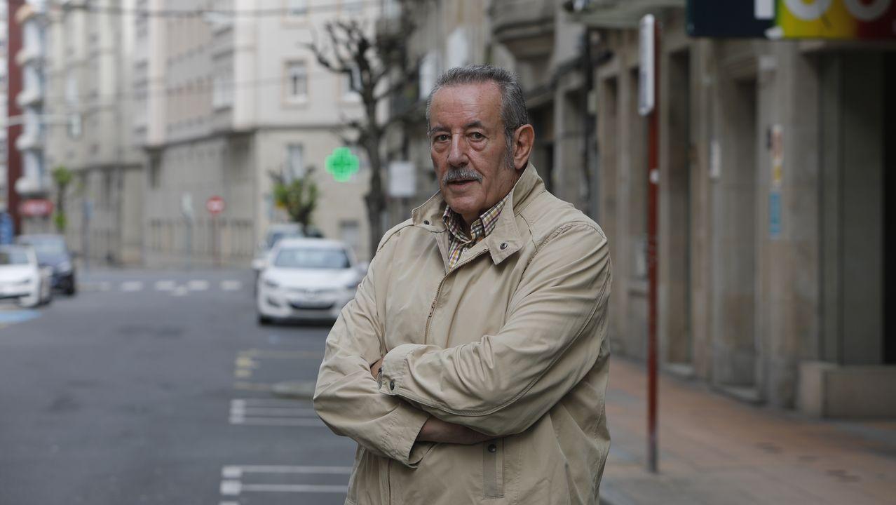 Portugal y Galicia, a solo un salto de terraplén.Pepe Quiroga, portavoz de los médicos jubilados de Ourense