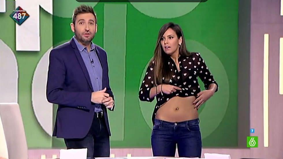 Cristina Pedroche enseña barriga para demostrar que no está gorda