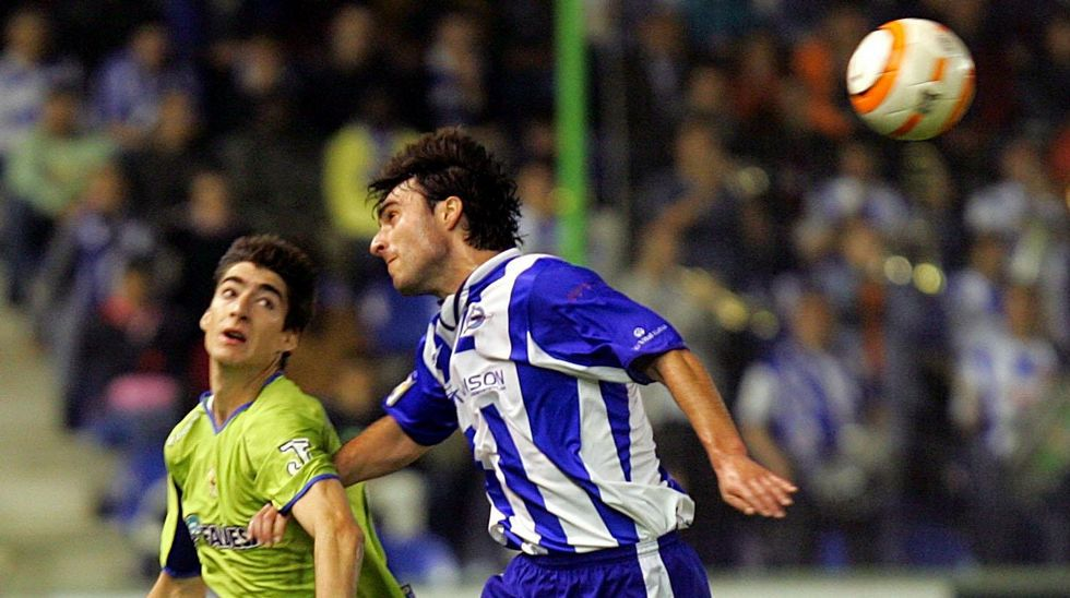 Último partido en Primera entre Dépor y Alavés, en mayo del 2006