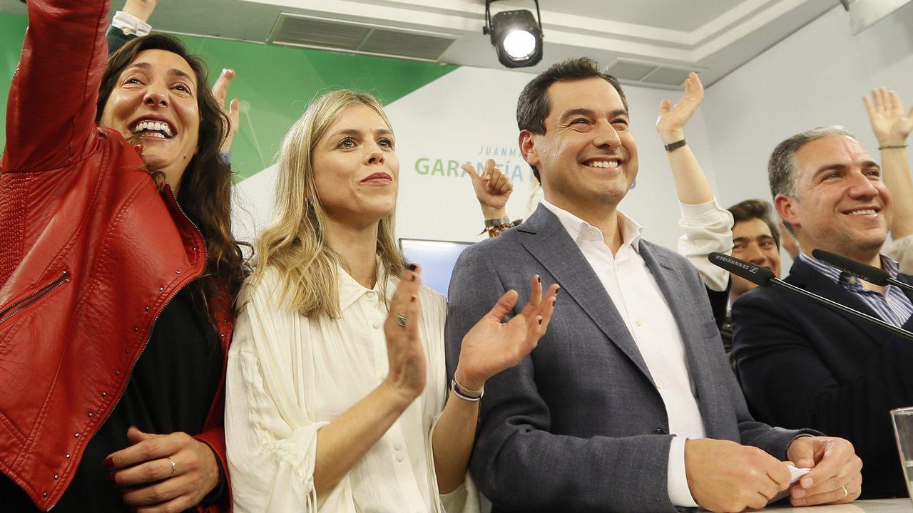 El PP y Ciudadanos presentan sus candidaturas mientras Susana Díaz pide frenar a la ultraderecha