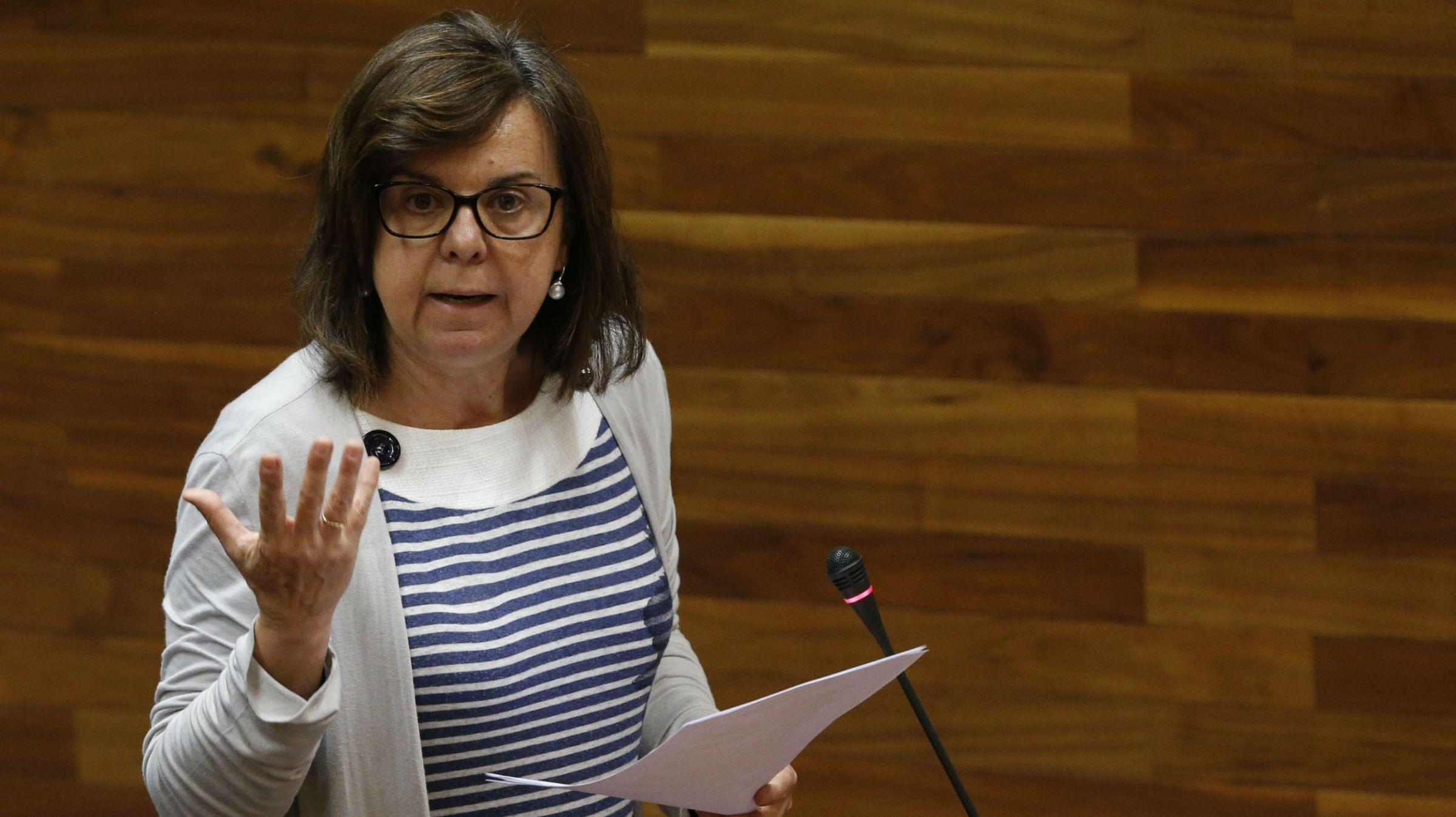 Los ganaderos asturianos se concentran en Oviedo.María Jesús Álvarez
