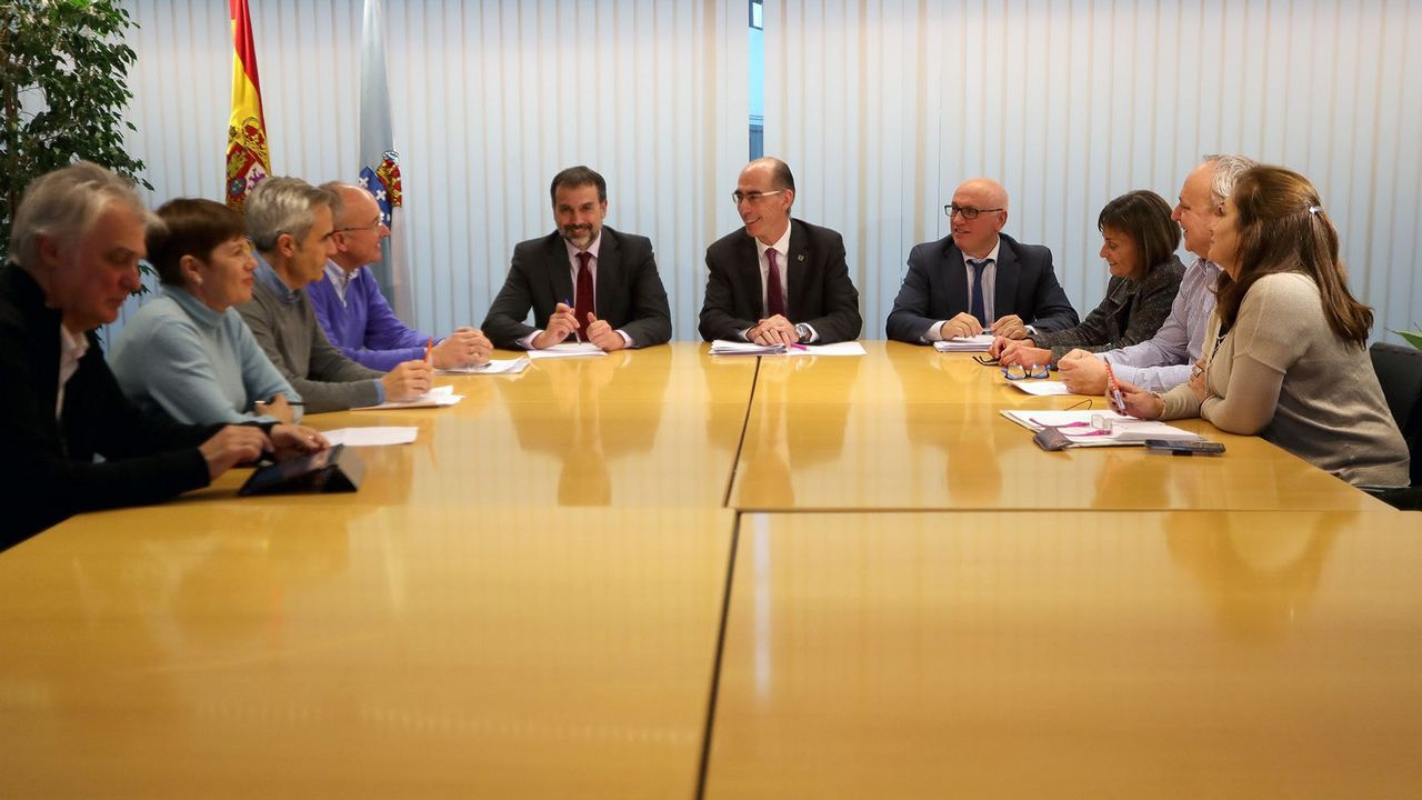 Reunión de Atención Primaria en Vigo el pasado 17 de enero