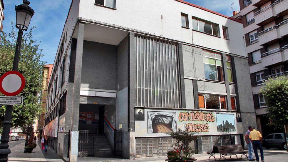 Cine Ayala de Oviedo.Cine Sindical, en La Felguera