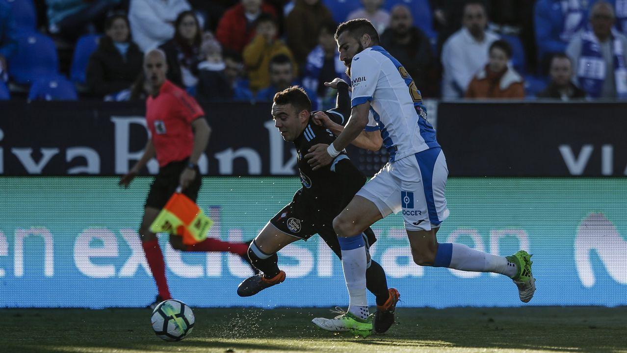 276 - Leganés-Celta (1-0) de Primera el 14 de abril del 2018