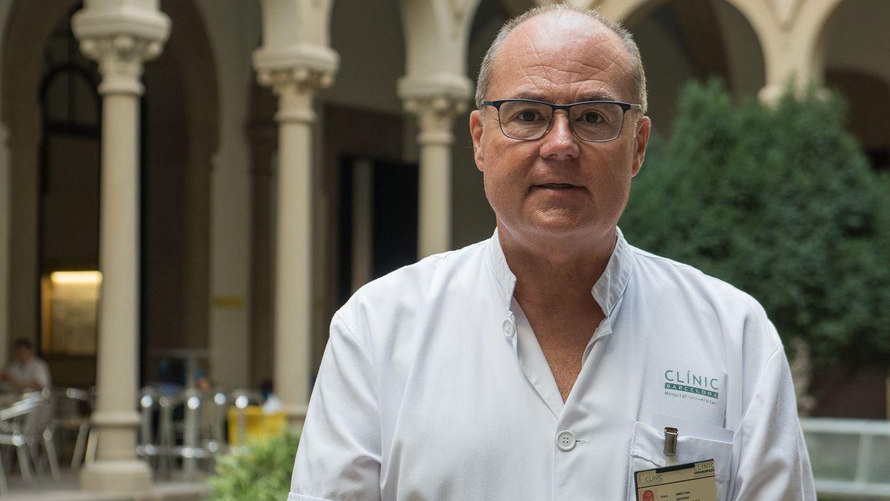 David Fernández regresou por uns días a Galicia para impartir formación en Santiago