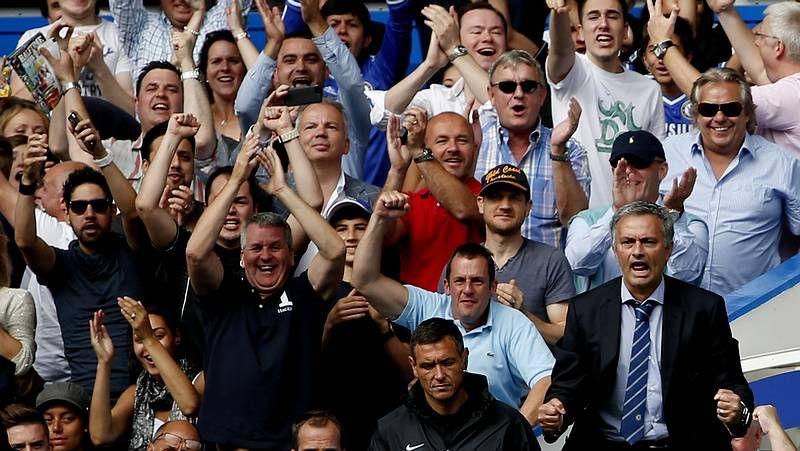 La respuesta y reacción de Mourinho