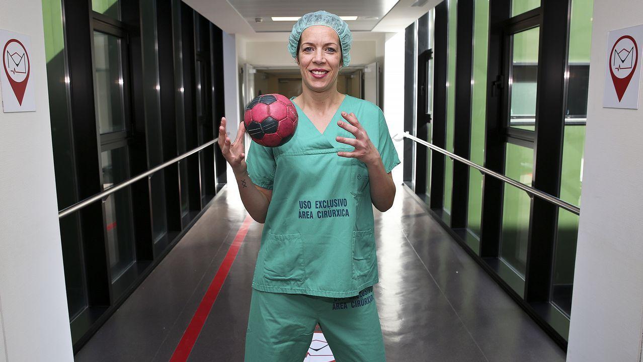 Begoña trabaja como auxiliar y espera comenzar a estudiar la carrera de Enfermería el próximo año