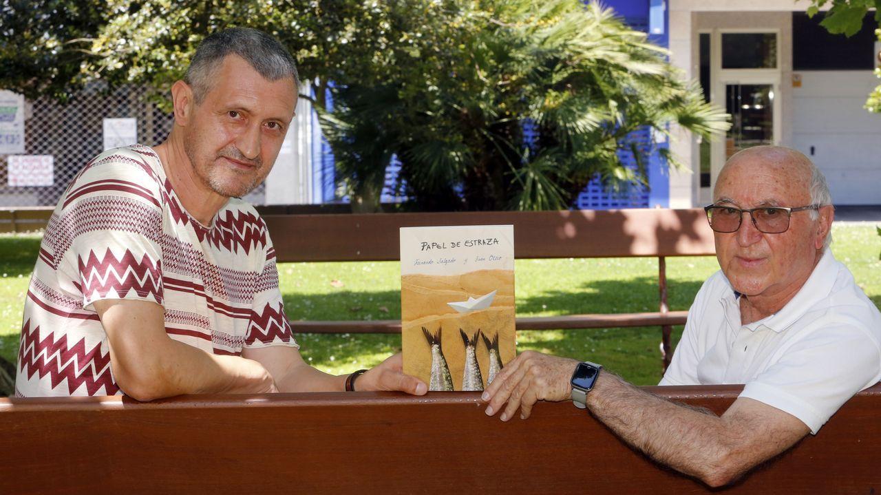 Fernando Salgado e Genito son os dous autores do libro sobre o goberno revolucionario independente da Illa, en 1934
