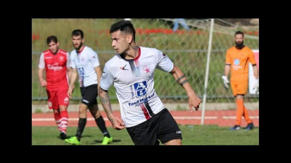 El futbolista monfortino, de 25 años, lleva varias temporadas en Grecia