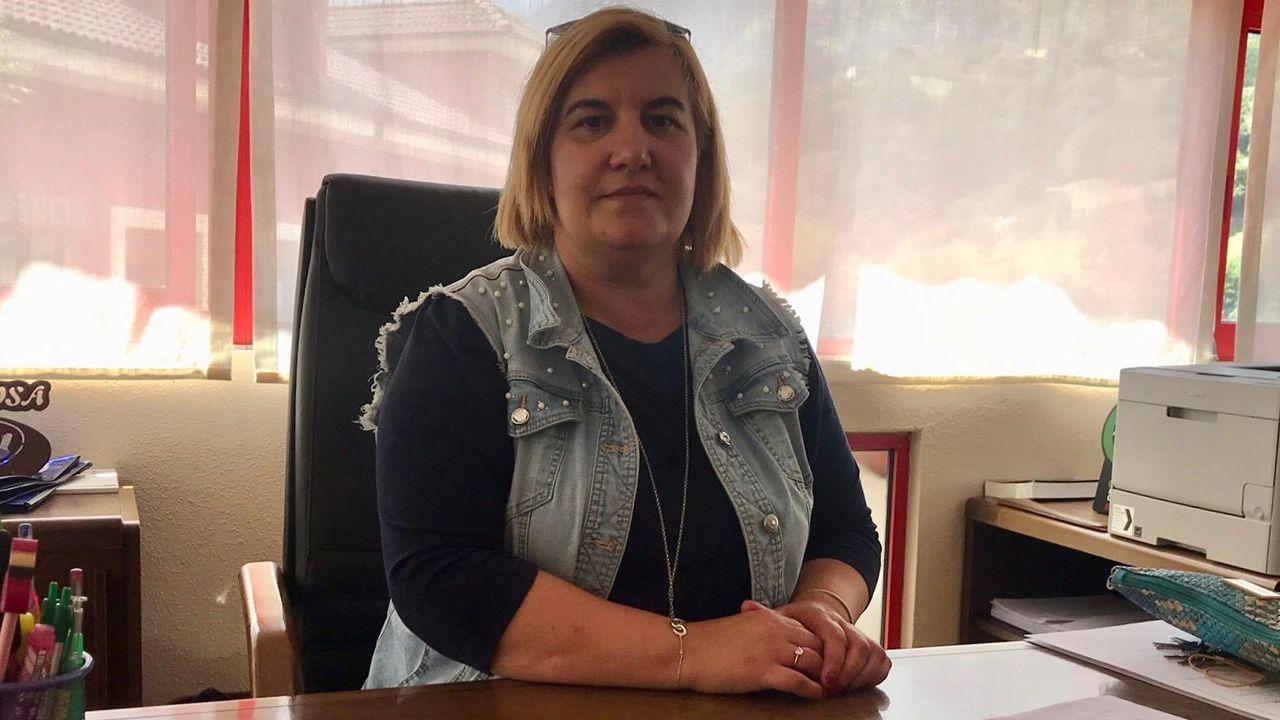 Un clamor antitaurino toma Gijón.Ana Isabel Díaz, alcaldesa de Riosa