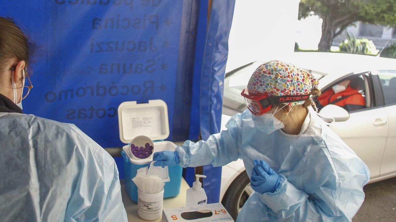 Los centros de salud del área asumen también la vacunación de mayores de 80 años