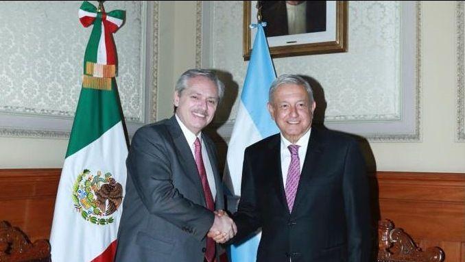 Fernández viajó a México para reunirse con López Obrador