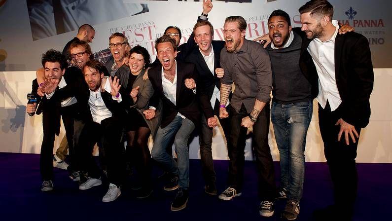 MasterChef: Vicky, ganadora.Miembros del restaurante Noma de Copenhague celebran el galardón