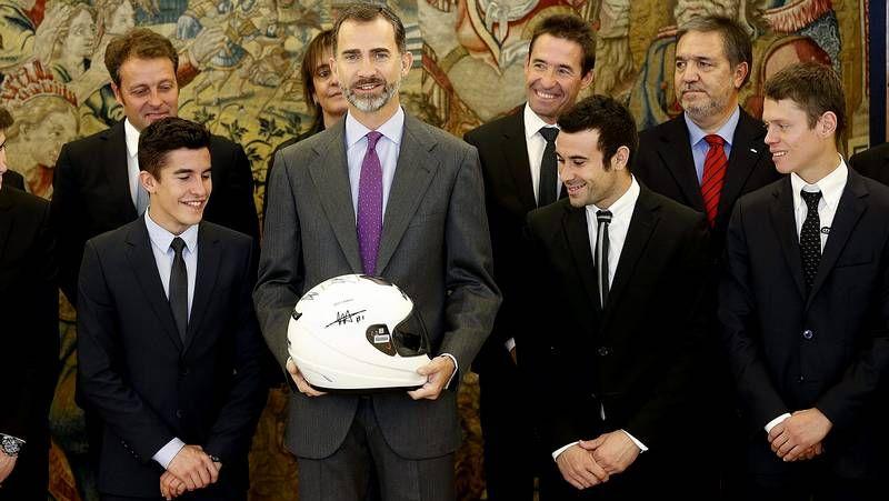 El Gran Premio de Jerez, en imágenes.Iannone celebra la pole con su equipo
