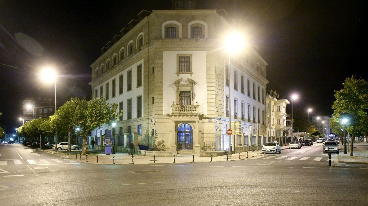 La Audiencia Provincial de Lugo, donde está previsto este lunes el juicio, en una imagen de archivo