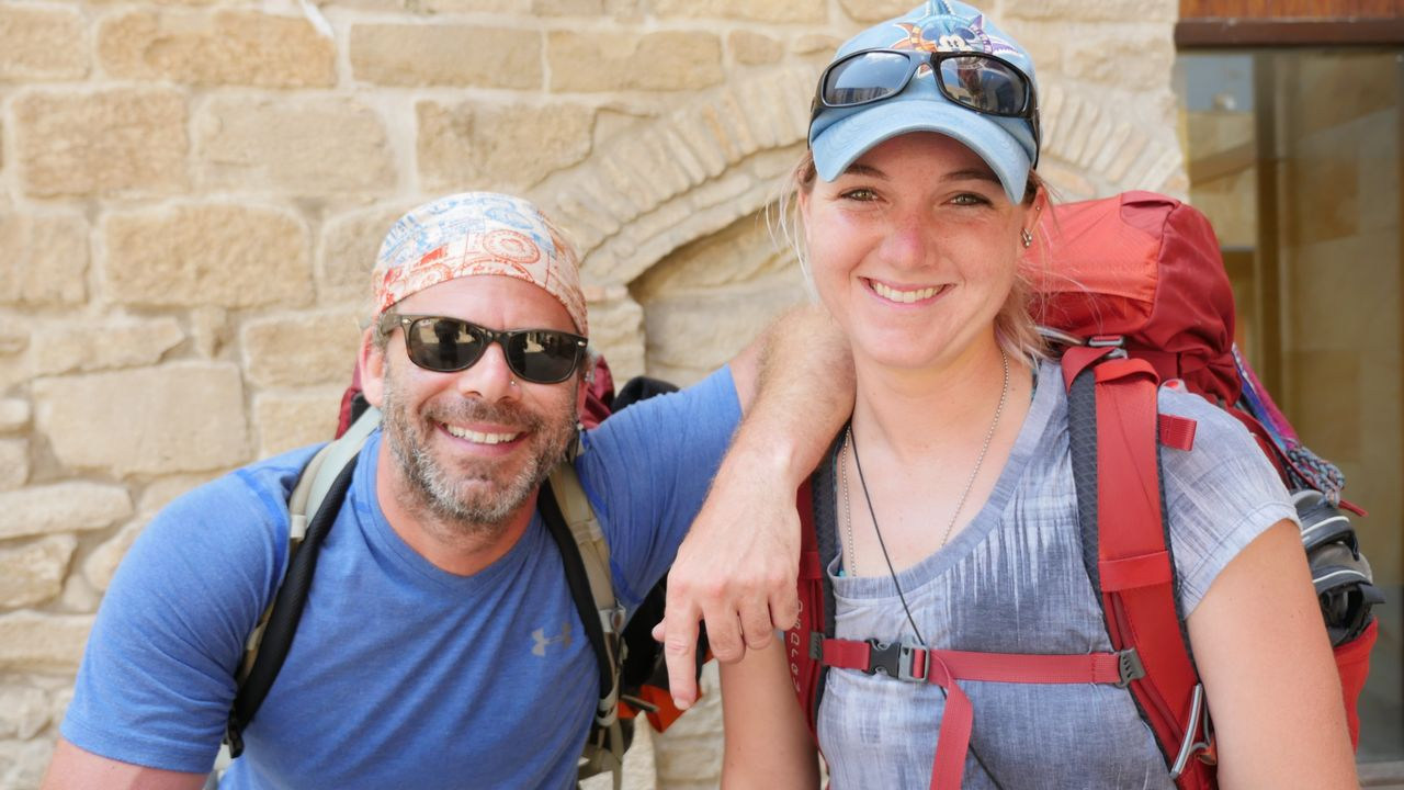 Mike y Brianna, otros dos estadounidenses que se han apuntado a esta aventura