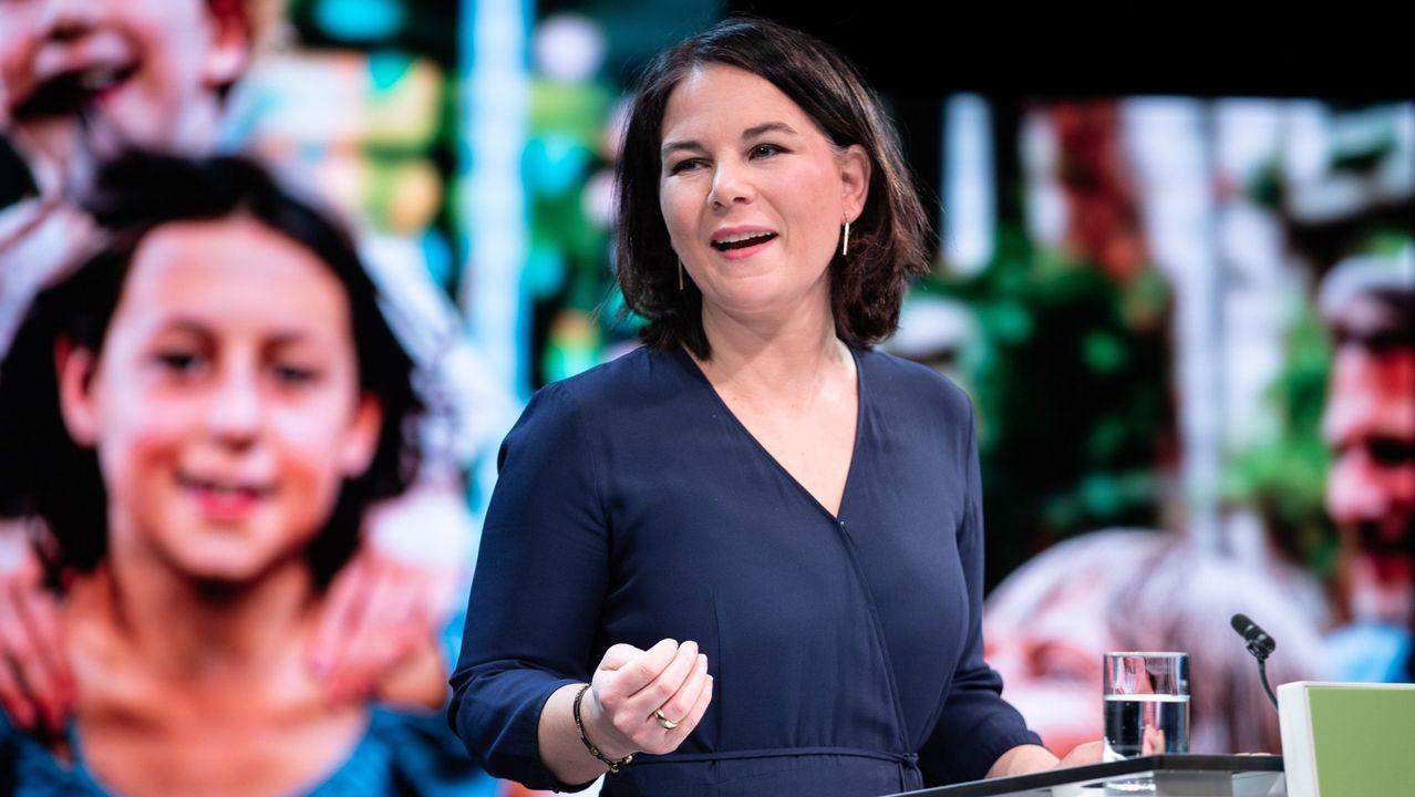 Annalena Baerbock, elegida candidata de Los Verdes a la Cancilleria alemana