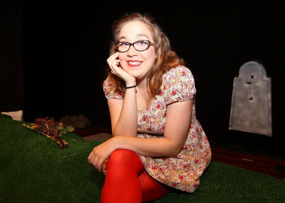 Pese a ser moi nova, Sara Nieto conta xa cunha ampla experiencia sobre os escenarios<span lang= es-es >. </span>