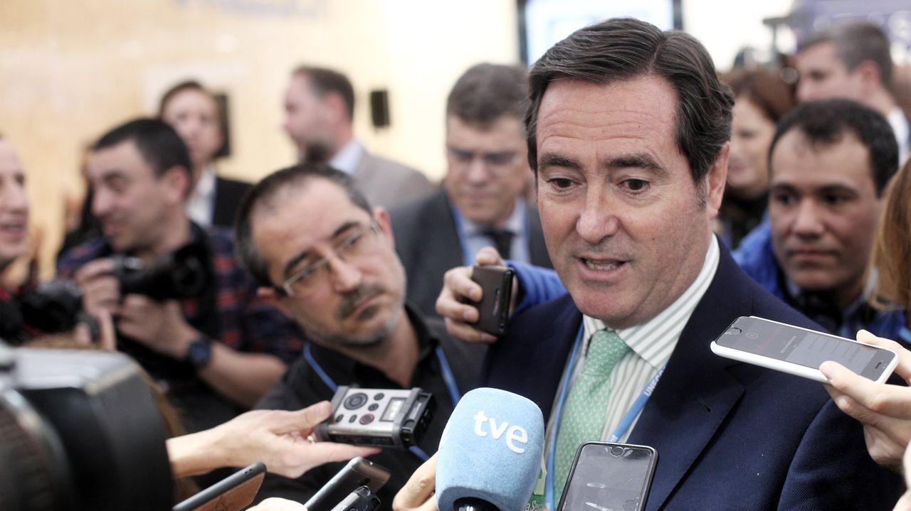 Antonio Garamendi preside la Confederación Española de Organizaciones Empresariales (CEOE)