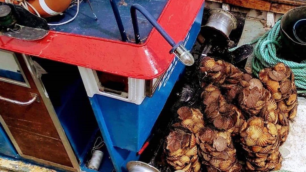 Imagen de archivo de una regata en Ribeira