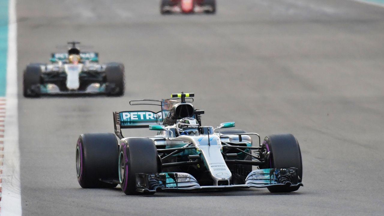 Alonso se despide por todo lo alto en Abu Dabi.Alonso y Hamilton