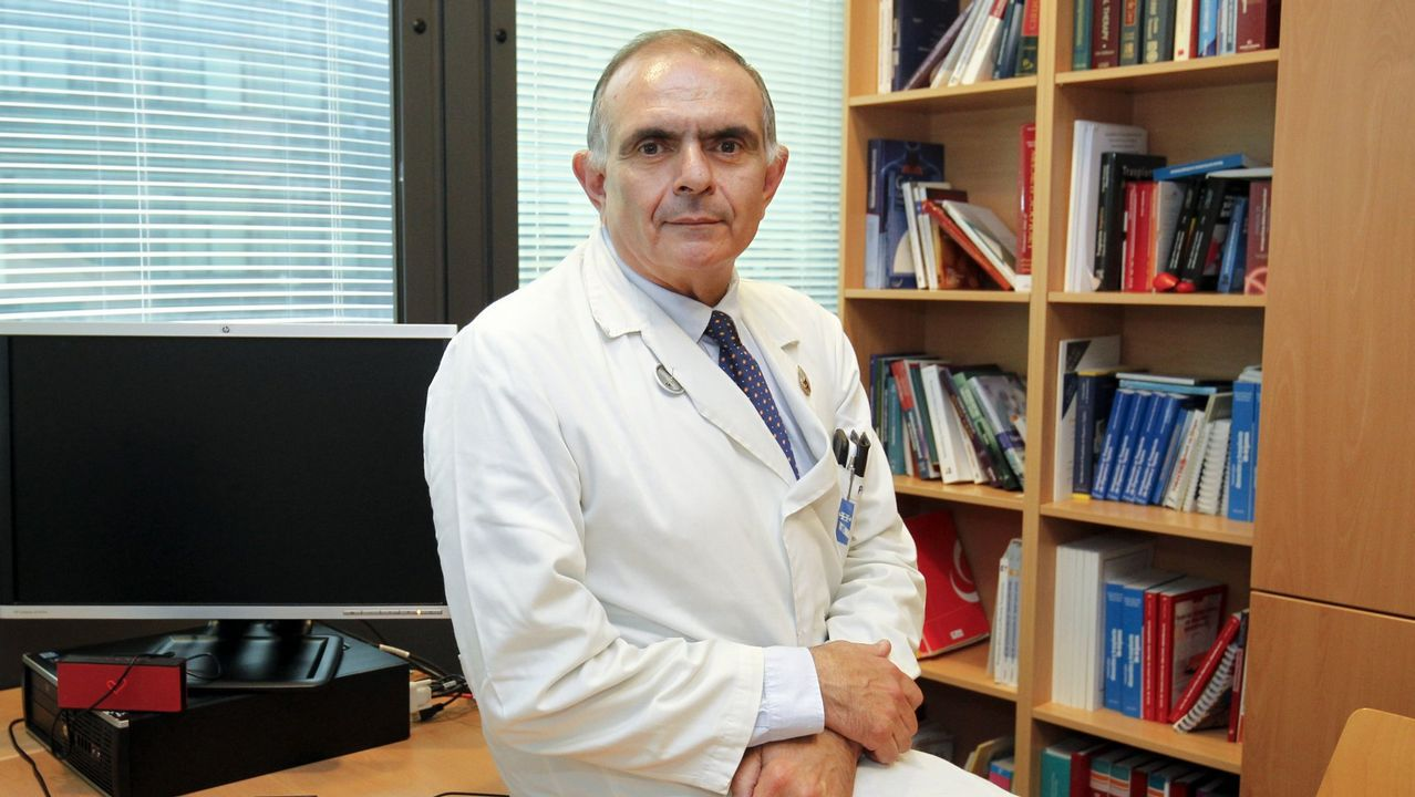 Fernando Trasplante.El HUCA en Oviedo