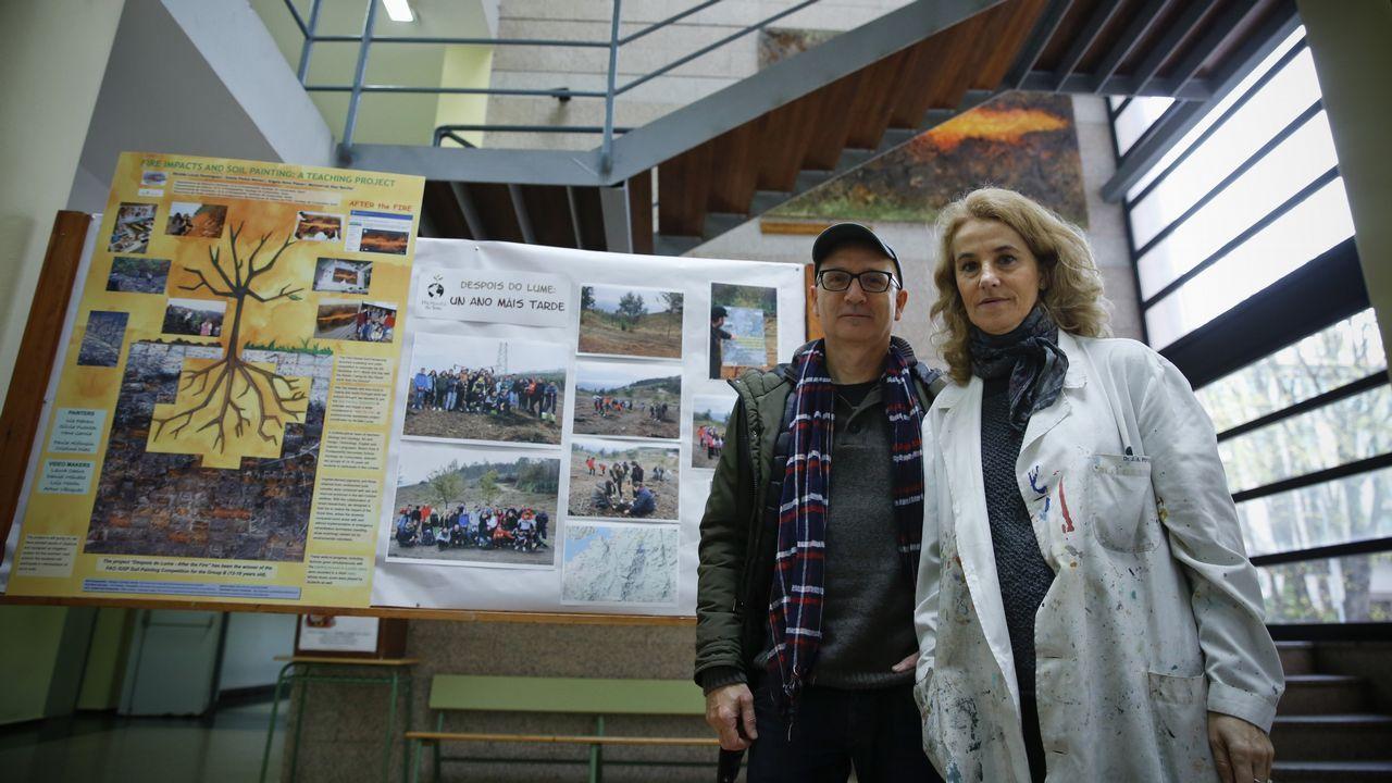escuela infantil alumnos.María Méndez con el Real Oviedo