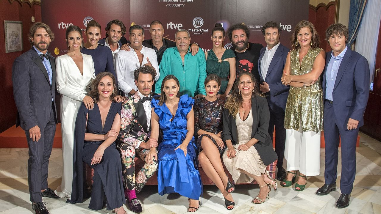 Estreno en Vitoria dela cuarta edición de «MasterChef Celebrity».Félix Gómez
