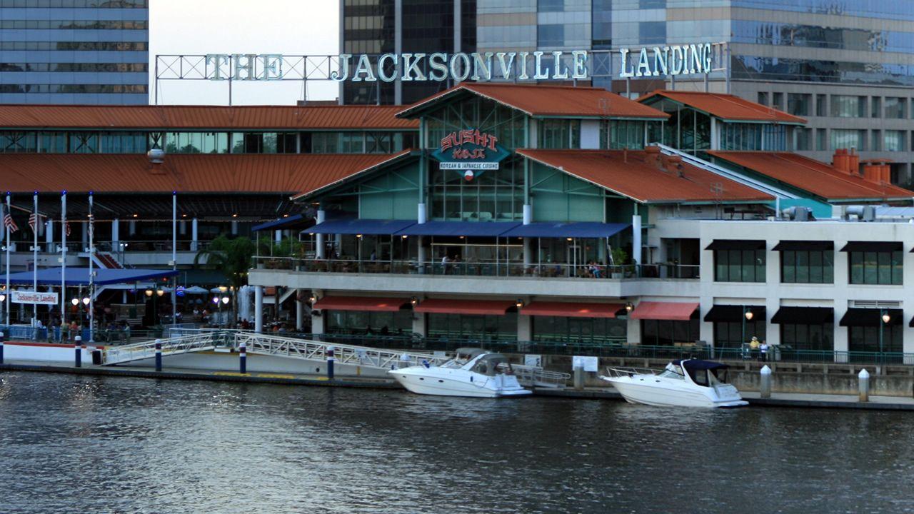El complejo Jacksonville Landing