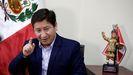 El primer ministro peruano, Guido Bellido