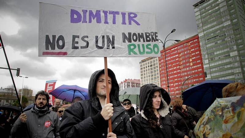 A Coruña conmemora el día de la clase obera gallega